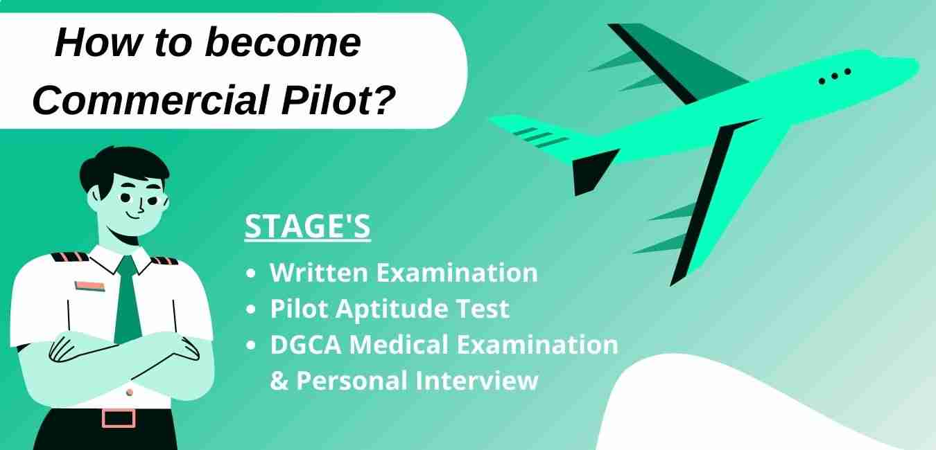 How to become commercial pilot