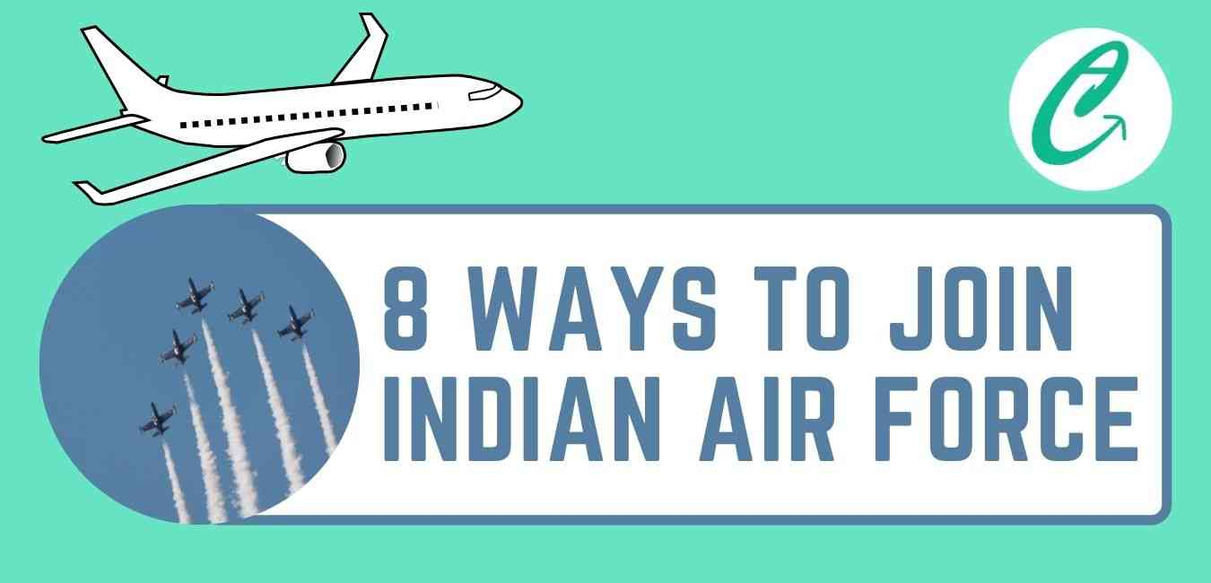 Ways to Join Indian Air force