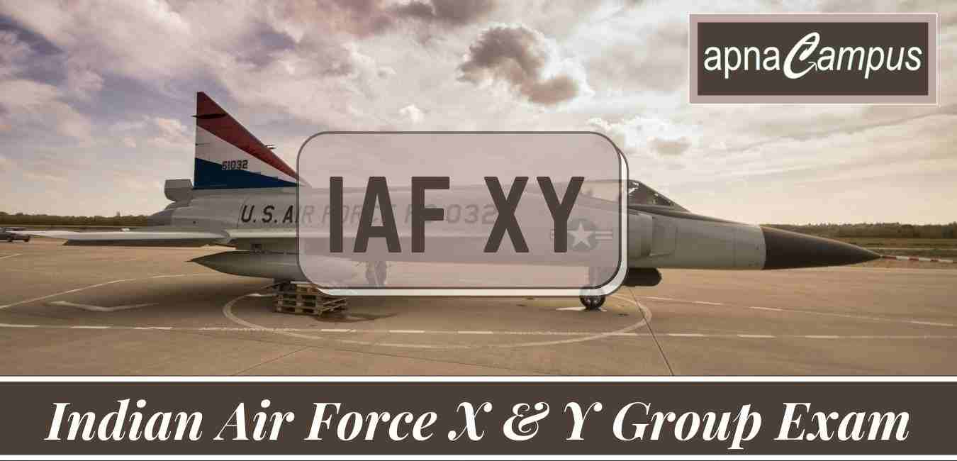 Indian Air Force XY Group 2022