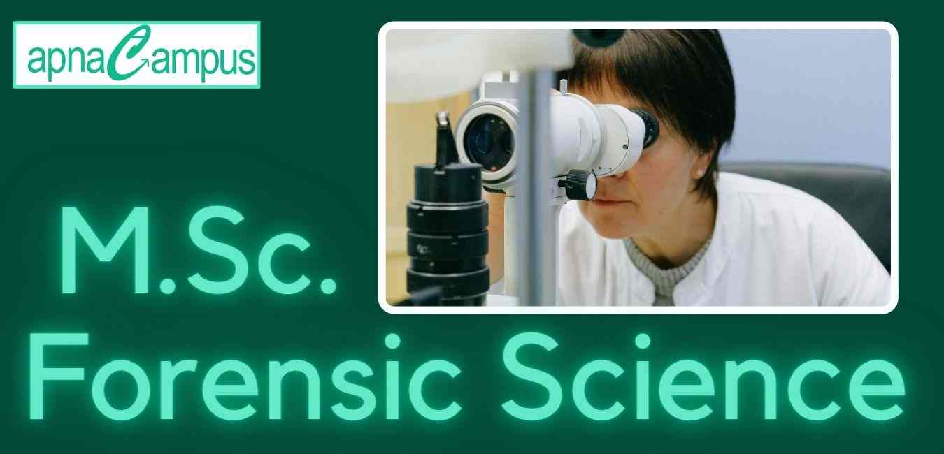 MSc Forensic Science