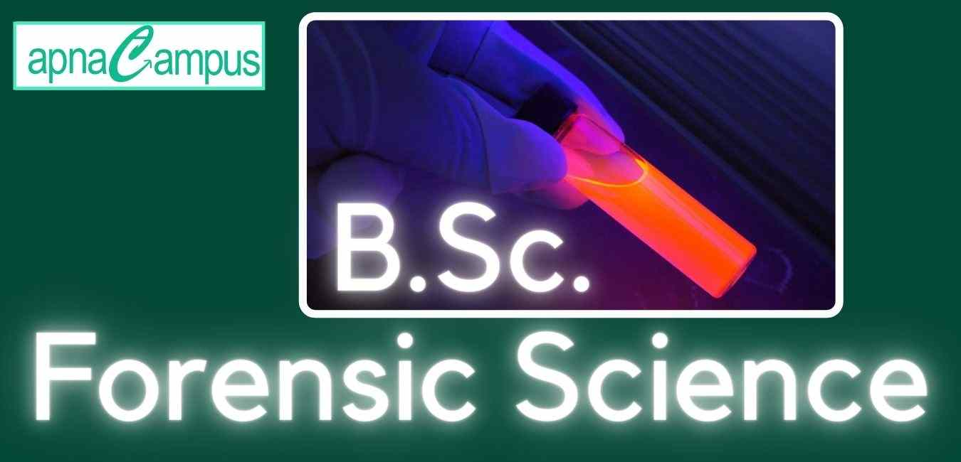 bsc forensic science